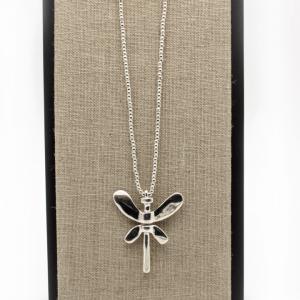 colgante-plata-libélula