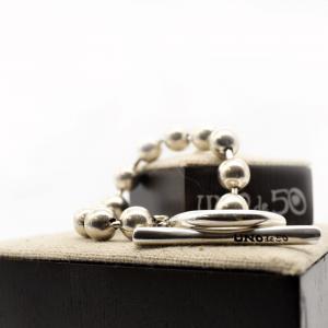 pulsera-plateado-barra-aro-elegante