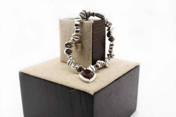 pulsera-plata-piedras-semipreciosas-amarillo-rojo-verde-negro
