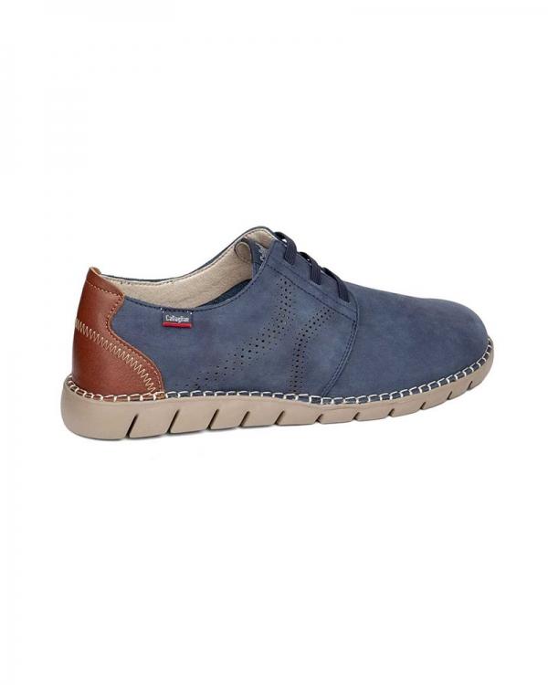 zapatos hombre-callaghan-azul-claro-marrón-oinberri